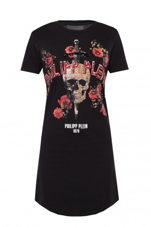 T-shirt studded with stones od Philipp Plein