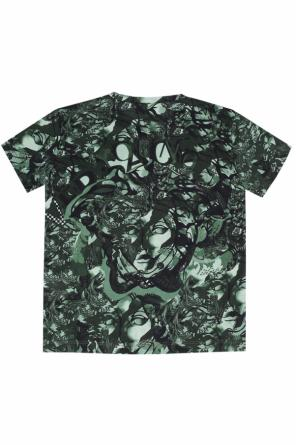Patterned t-shirt od Versace Young