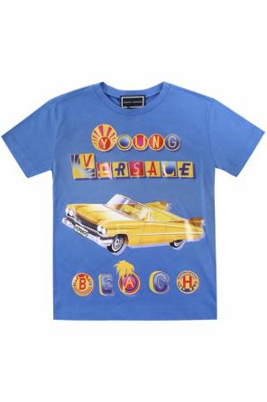 Printed t-shirt od Versace Young