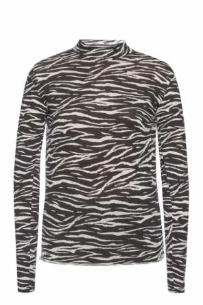 'zee kiara' patterned top od AllSaints