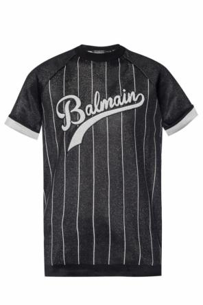 T-shirt with a lurex finish od Balmain