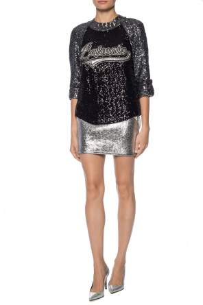 Sequin top od Balmain