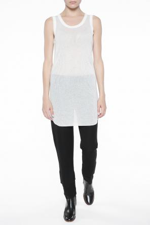 Raw-trimmed top od Ann Demeulemeester