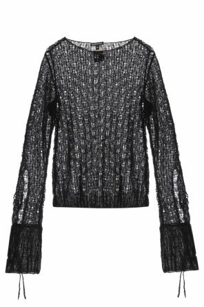 Sheer sweater od Ann Demeulemeester