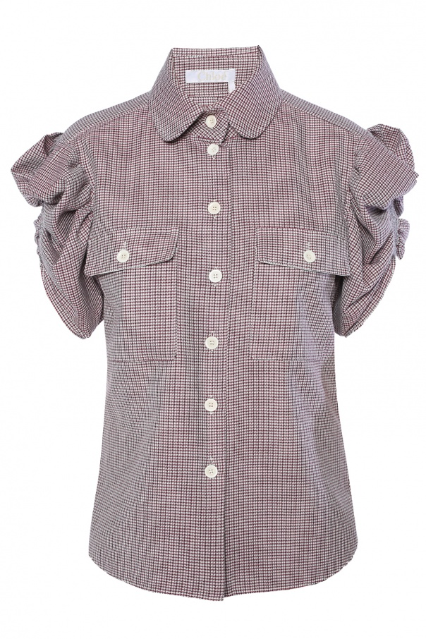 5503a27a6bf Mini-check shirt Chloe - Vitkac shop online