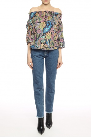 Patterned top od Etro