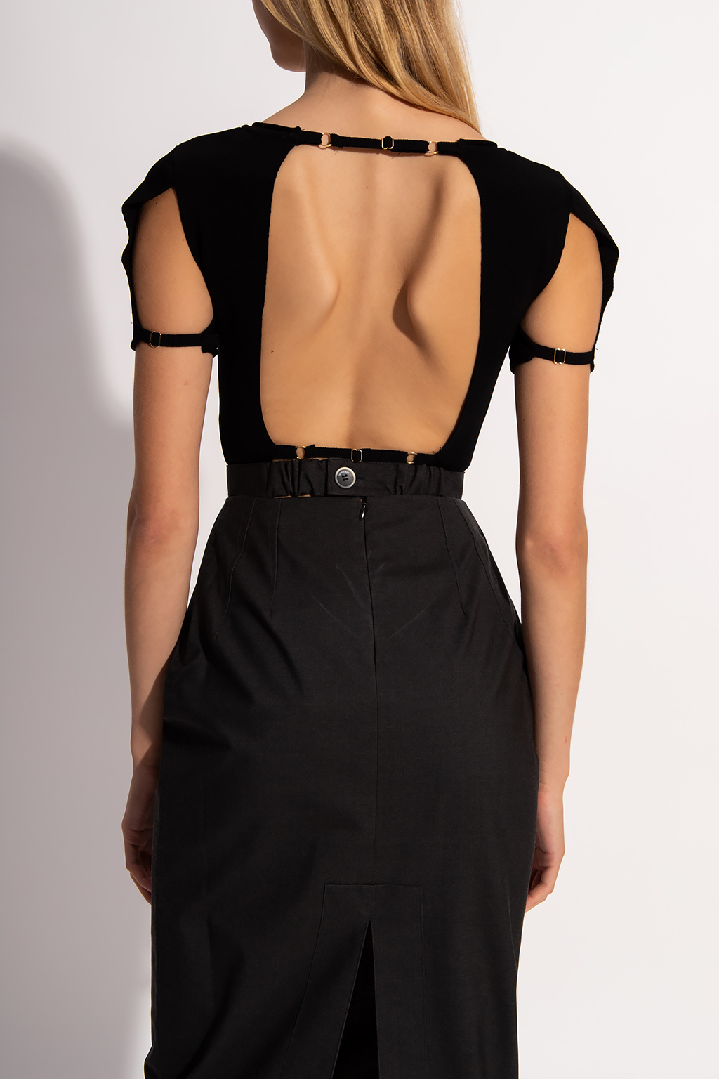 Jacquemus Top with cut-outs