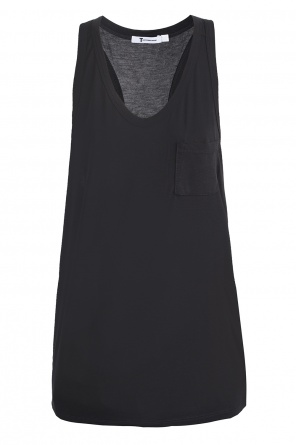 Chest pocket top od T by Alexander Wang