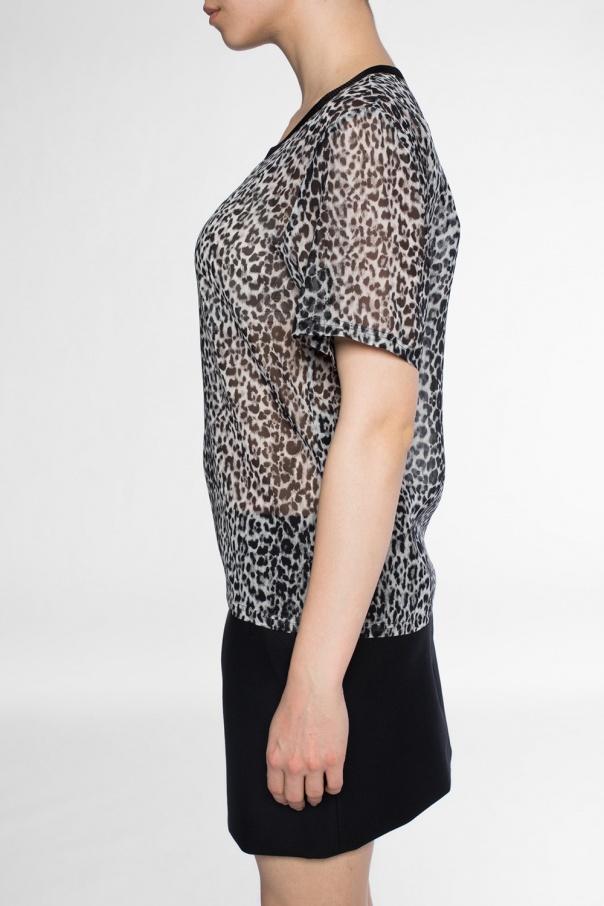 2bf0080da12279 Leopard-printed blouse Saint Laurent - Vitkac shop online