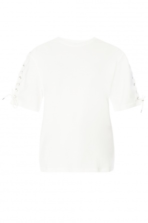 Lacing detail top od McQ Alexander McQueen