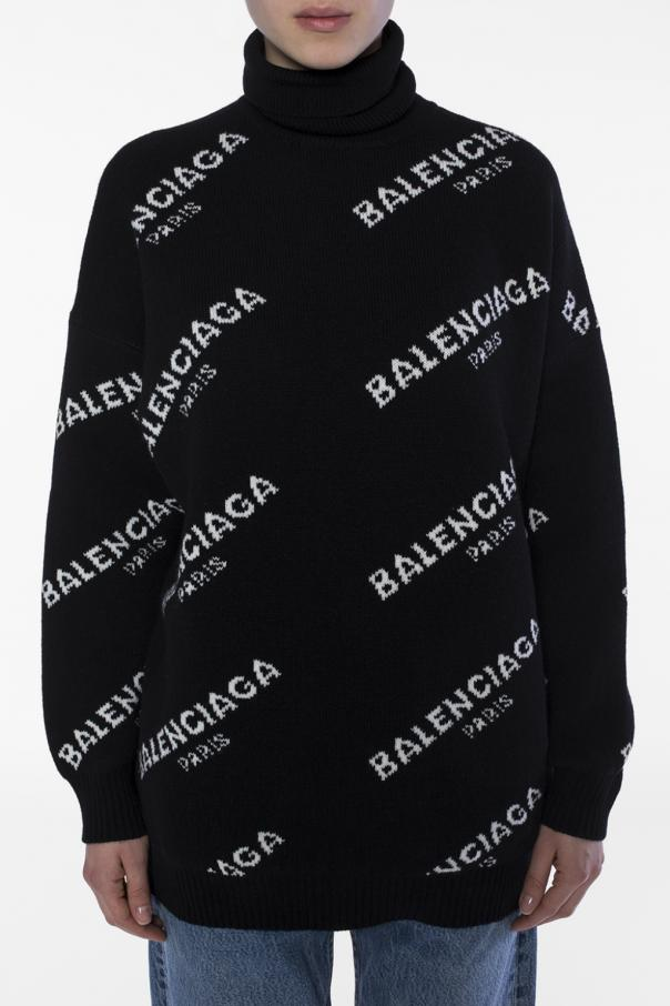 65cb587f84 Oversize turtleneck sweater Balenciaga - Vitkac shop online