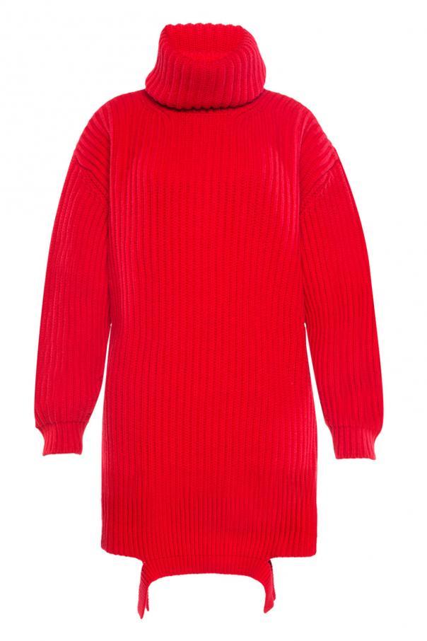 Braided turtleneck sweater Balenciaga
