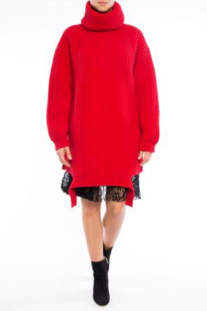 Braided turtleneck sweater od Balenciaga
