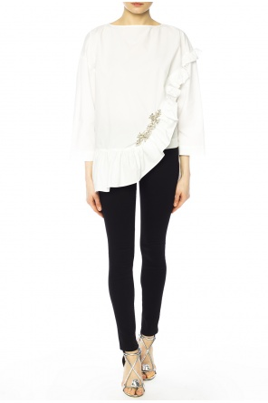 Top with ruffle od Christopher Kane