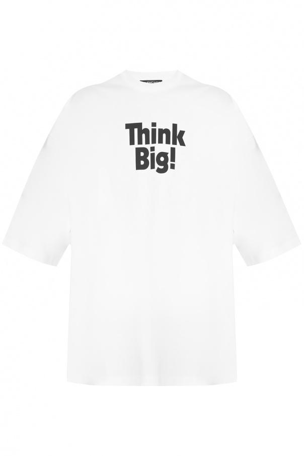 1a3a5f5761c6 Printed oversize T-shirt Balenciaga - Vitkac shop online