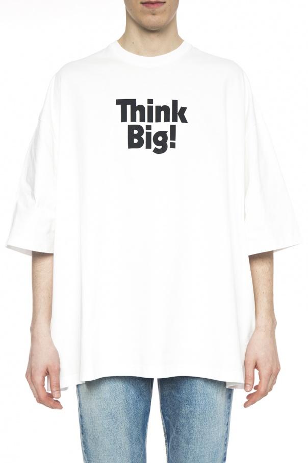 68401b1c5 T-shirt typu 'oversize' z nadrukiem Balenciaga - sklep internetowy ...