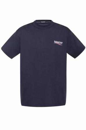 T-shirt with a logo od Balenciaga