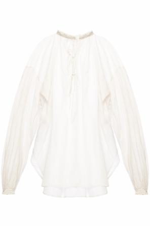 Lace top od Saint Laurent