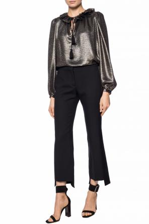 Ruffled top od Saint Laurent