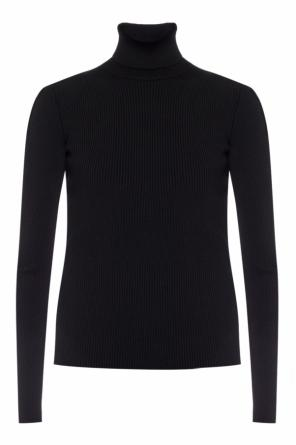 Rib-knit turtleneck sweater od Balenciaga