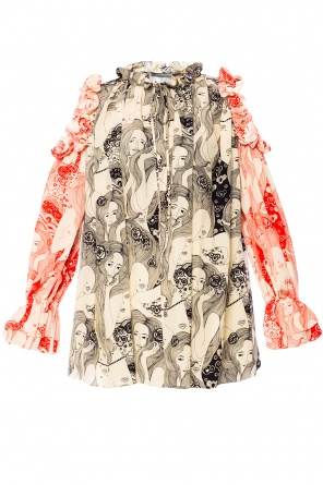 Cut-out top od Alexander McQueen
