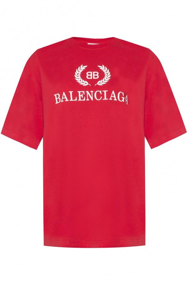 ea7096422b41 T-shirt with a printed logo Balenciaga - Vitkac shop online