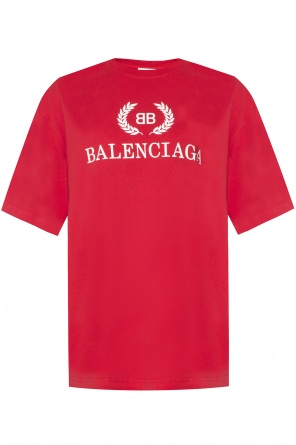 T-shirt with a printed logo od Balenciaga