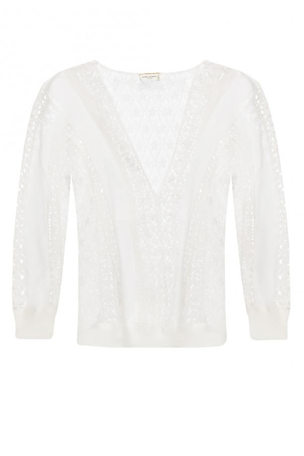 Saint Laurent Lace sweater