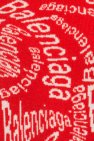 Patterned wool turtleneck sweater od Balenciaga
