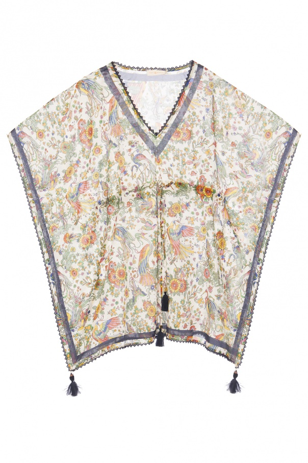 Tory Burch Floral-printed top