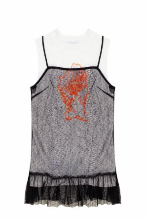 Double-layered top od McQ Alexander McQueen