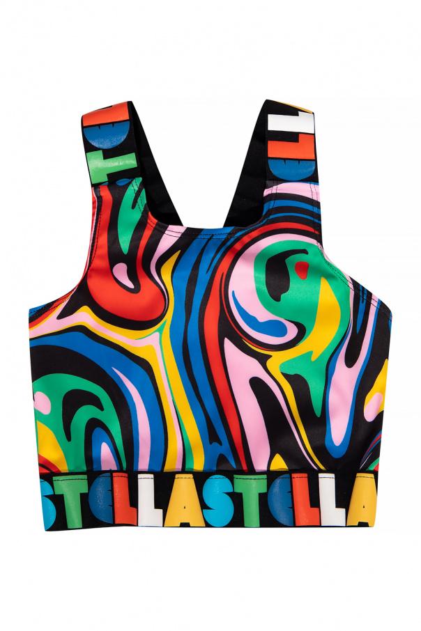 Stella McCartney Kids Training top with logo