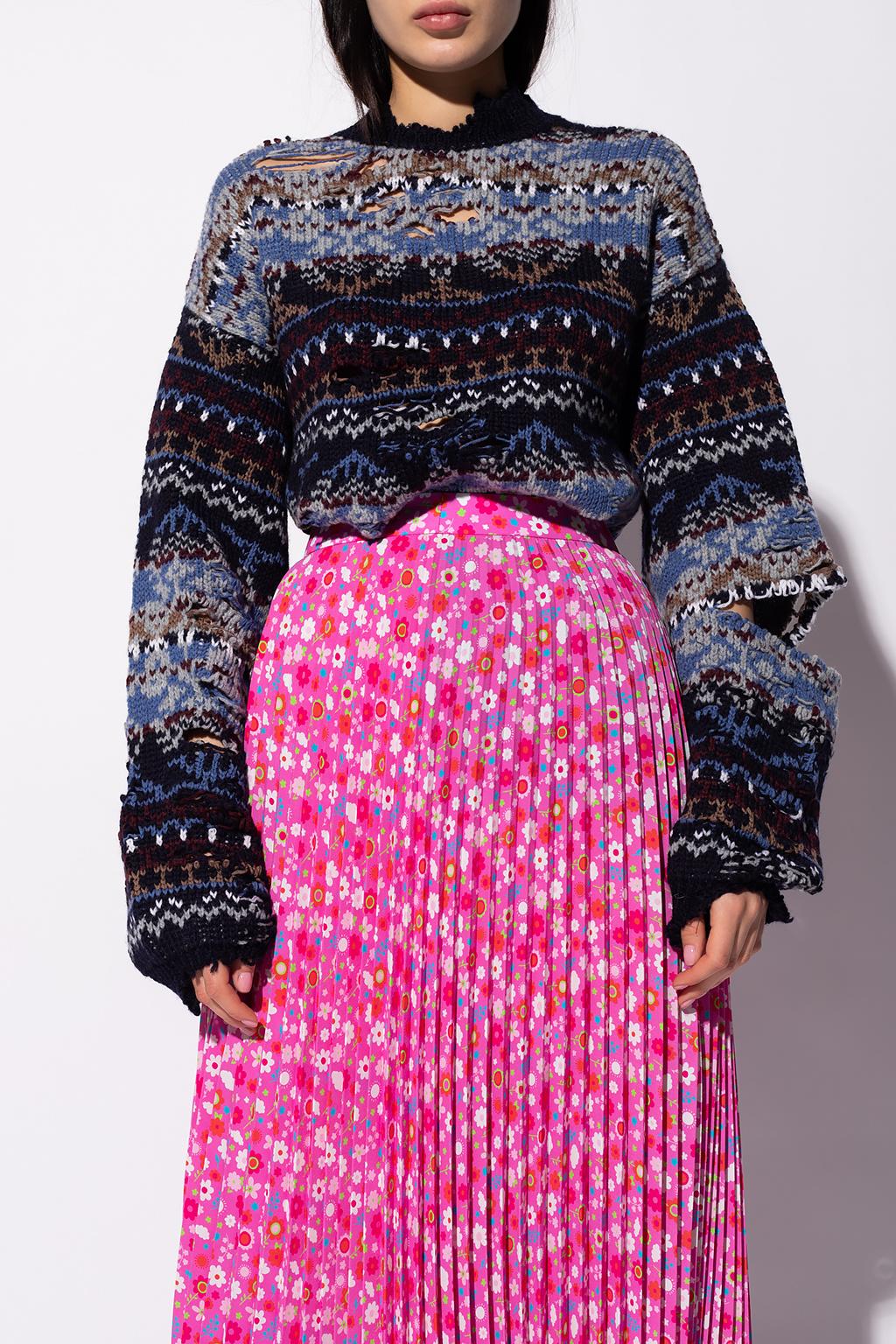 Balenciaga Patterned sweater