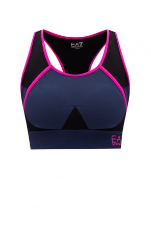 Training top with logo od EA7 Emporio Armani
