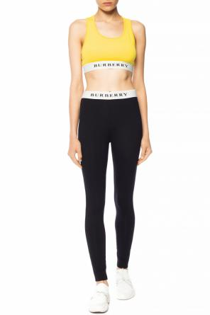 Sports bra with logo od Burberry