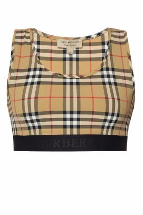 Checked top od Burberry