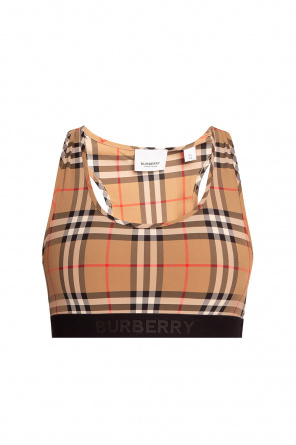 Cropped top od Burberry