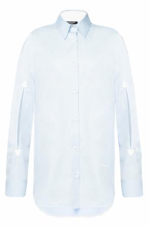 Embroidered lettering shirt od Calvin Klein