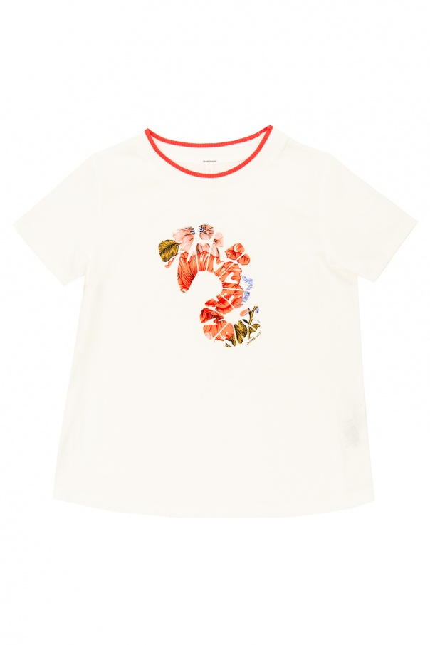 Zimmermann Kids Printed T-shirt