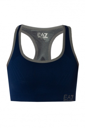 Sports bra with logo od EA7 Emporio Armani