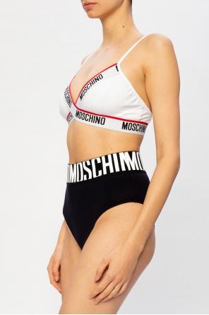 Bra with logo od Moschino