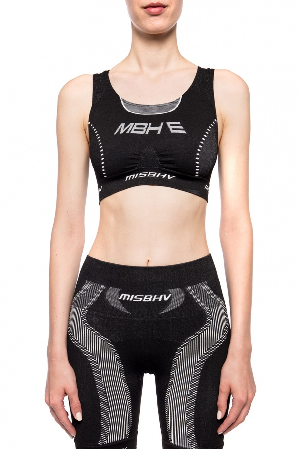 Sports bra with logo od MISBHV