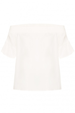 'adela' denuded shoulders top od AllSaints