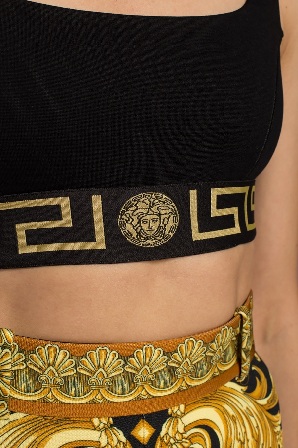 Medusa head sports bra od Versace