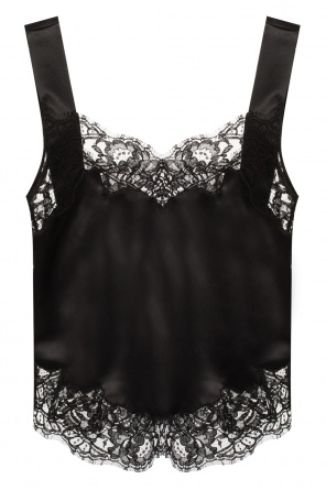 Lace-trimmed top od Givenchy