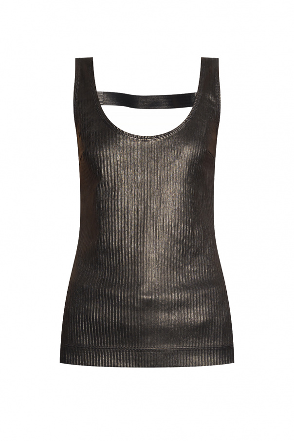 Givenchy Leather slip top