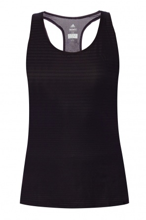 Tank top with logo od ADIDAS Performance