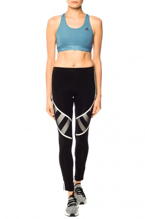 Sports bra with logo od ADIDAS Performance