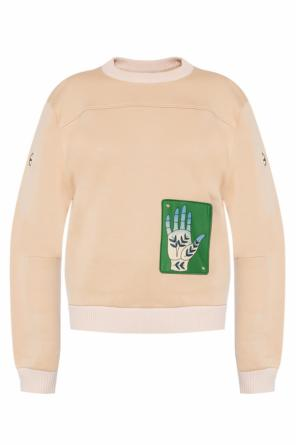 Patched sweatshirt od Chloe