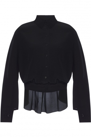 Top with pleated back od Chloe